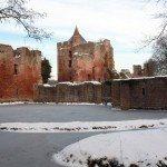 Expositie ruïne van Brederode in Santpoort